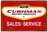 Vintage Cushman Automotive Sign