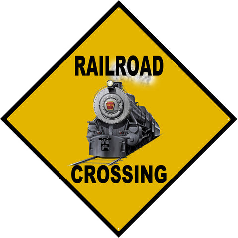 RPR Railroad Crossing Sign