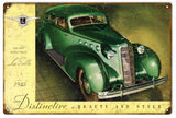 Vintage LaSalle 1935 Automobile Sign