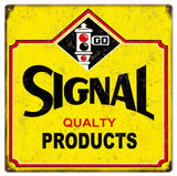 Vintage Signal Products Sign 12x12