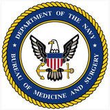 Department Of Navy Bureau Of Medicine And Surgery Sign
