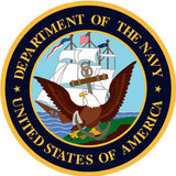 Department Of Navy United States Of America Sign