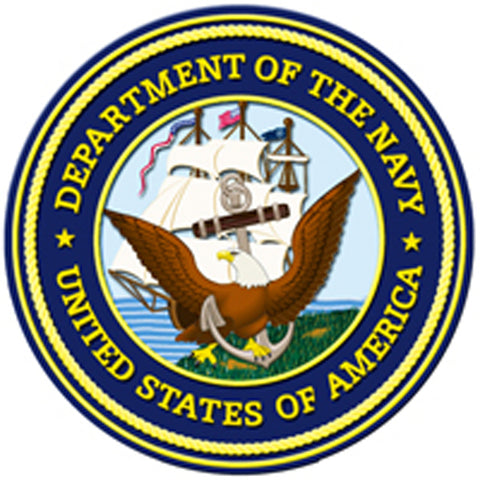 Department Of Navy United States Marine Corps Sign
