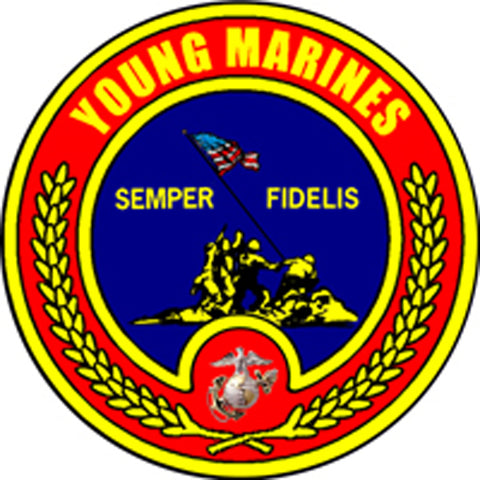 Young Marines Semper Fidelis Sign
