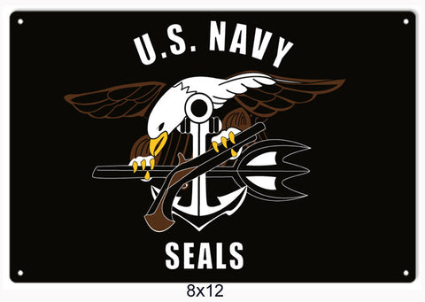 US Navy Seals Sign 8x12