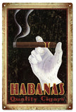 Habanas Cigar Sign