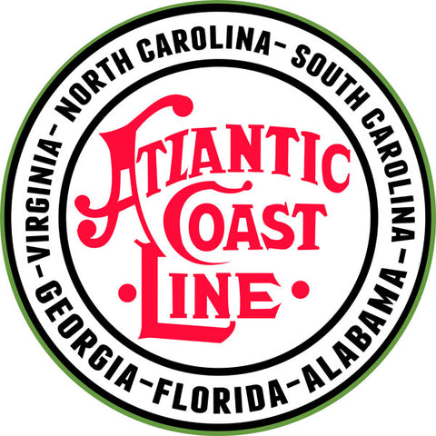Atlantic Coast Line Route Railway Sign