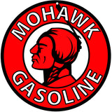 Mohawk Gasoline Sign Round 14