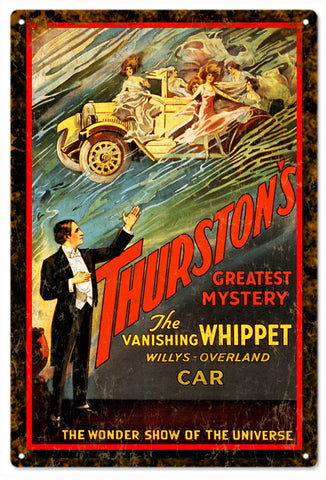 Thurstons Greatest Mysterie Circus Sign