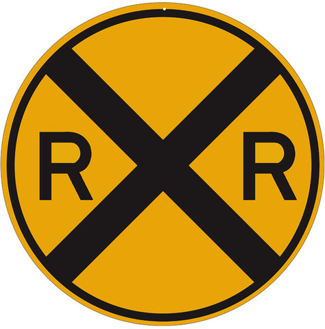 Rialroad Crossing Sign