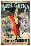 Vintage Musee Grevin Circus Sign
