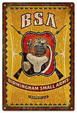 Vintage BSA Gun Sign