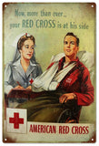 Vintage American Red Cross Sign