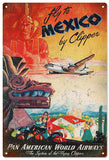 Vintage Pan American Airline Sign