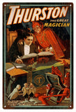 Vintage Thurston The Great Magician Sign
