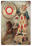 Vintage Clown Arm And Hammer Soda Sign