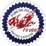 Firebird Gasoline Sign 14 Round