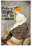 Vintage Stearns Bicycle Sign
