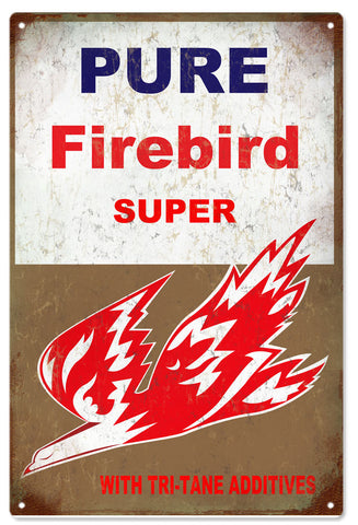 Vintage Firebird Motor Oil Sign