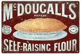 Vintage Mc Dougalls Flour Sign
