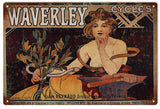 Vintage Waverley Cycles Sign