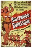 Vintage Hollywood Burlesque Sign