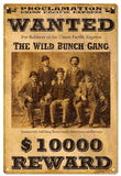 Vintage Wanted Sign
