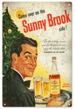 Vintage Sunny Brook Whiskey Sign