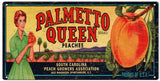Vintage Palmetto Peaches Sign