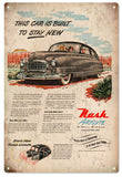 Vintage Nash Airflyte Automobile Sign