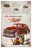 Vintage Mercury Automobile Sign