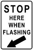 RR-102 Stop When Flashing
