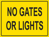 RR-104 No Gates Or Lights