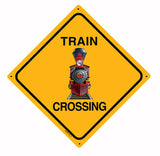 RR-139 440 Train Crossin Sign