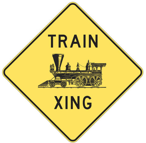 RR-1 Railroad Xing Sign