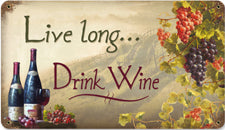 RRW-7 Live Long Drink Wine