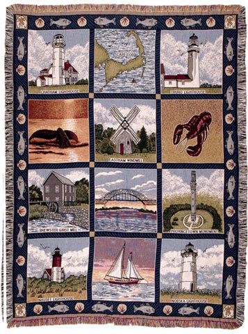Tapestry - Cape Cod Throw