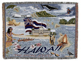 Tapestry - State Of Hawaii Throw