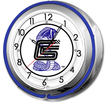 Carroll Shelby SC-27 SHELBY DOUBLE NEON CLOCK