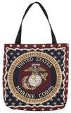 Marines 18 In Tapestry Tote Bag