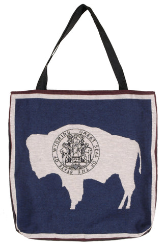 Tote - Flag Of Wyoming Tote