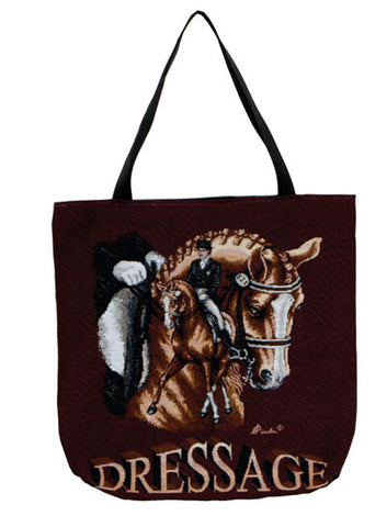 Dressage Horse Tote Bag