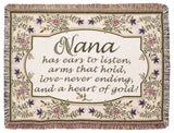 Tapestry - Heart Of Gold (Nana) Throw