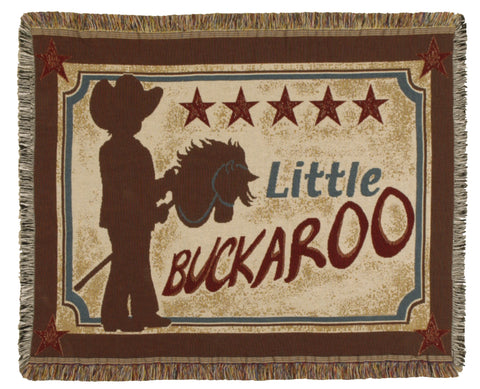 Tapestry - Little Buckaroo Throw
