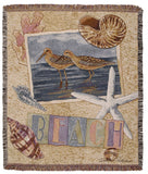 Tapestry - Sandpiper Collage Throw