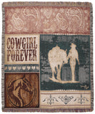 Tapestry - Cowgirl Forever Throw