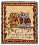 Tapestry - Owl Love You Throw