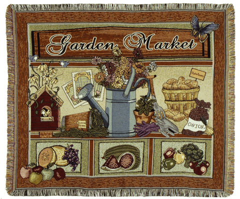 Tapestry - Garden Market Throw