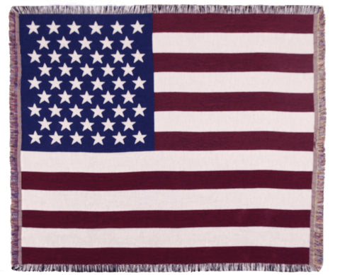Tapestry - Flag Of The U.S. Throw