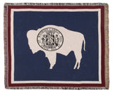 Tapestry - Flag Of Wyoming Throw